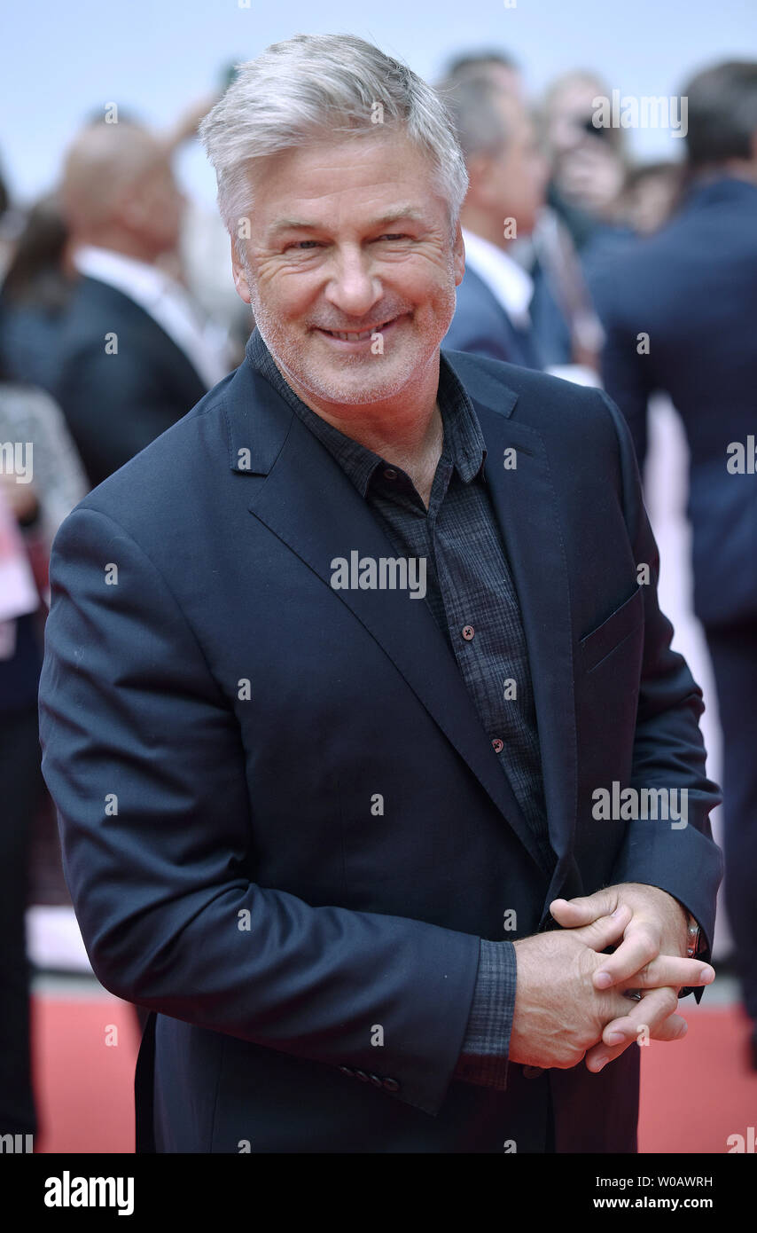 Alec Baldwin arrives for the premiere of 'The Public' at Roy Thomson Hall during the Toronto International Film Festival in Toronto, Canada on September 9, 2018. Photo by Christine Chew/UPI Stock Photo