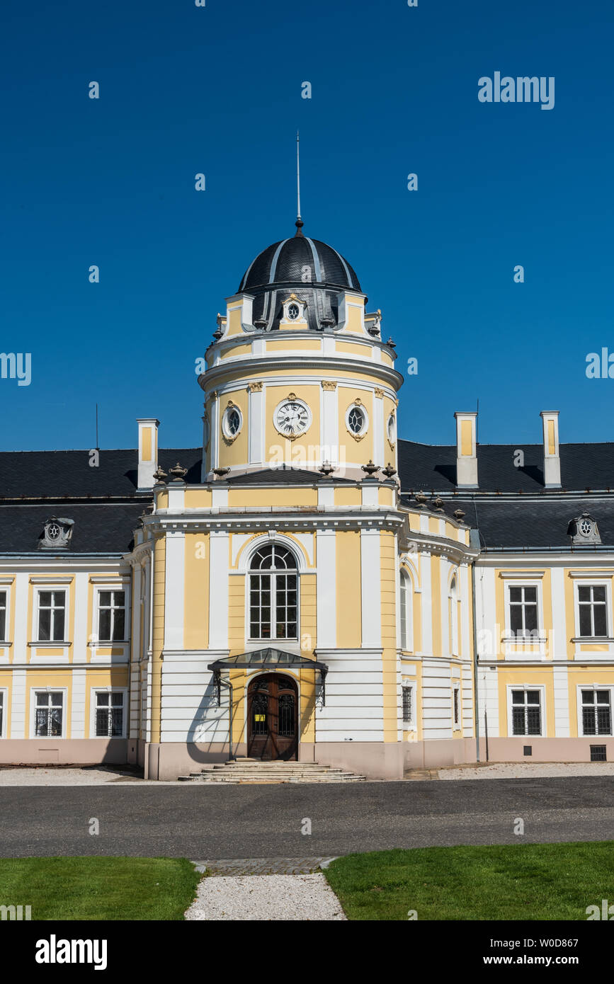 Silherovice chateau near Ostrava city in Czech republic during nice springtime afrernoon Stock Photo