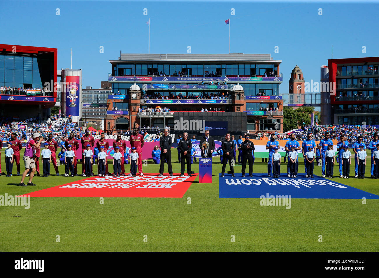 Old Trafford, Manchester, UK  27th June, 2019  ICC World Cup cricket