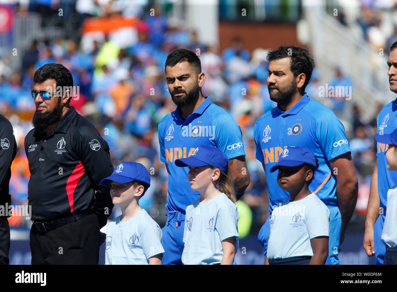 Old Trafford, Manchester, UK  27th June, 2019  ICC World Cup
