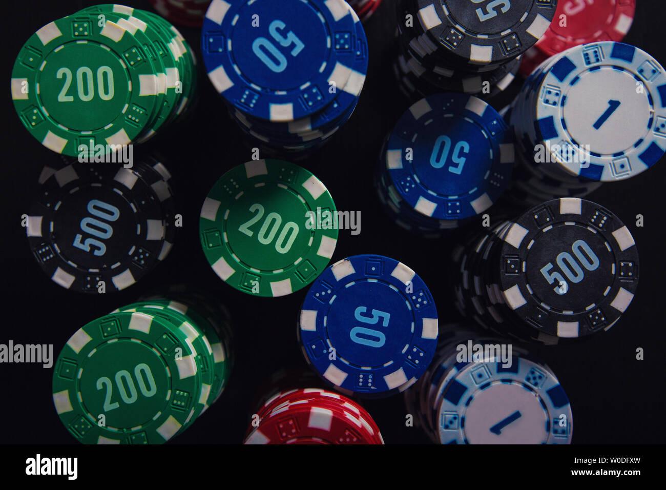 Fiches Private Poker Tournament valore 500-25 pz