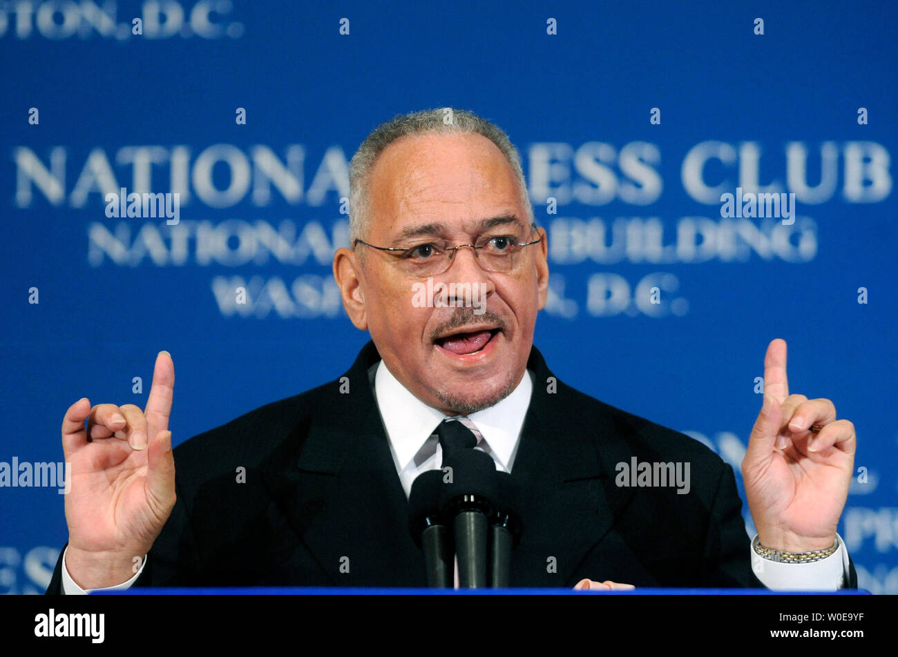 Rev Jeremiah Wright Pastor Of Trinity United Church Of Christ Tucc And Former Spiritual Mentor Of