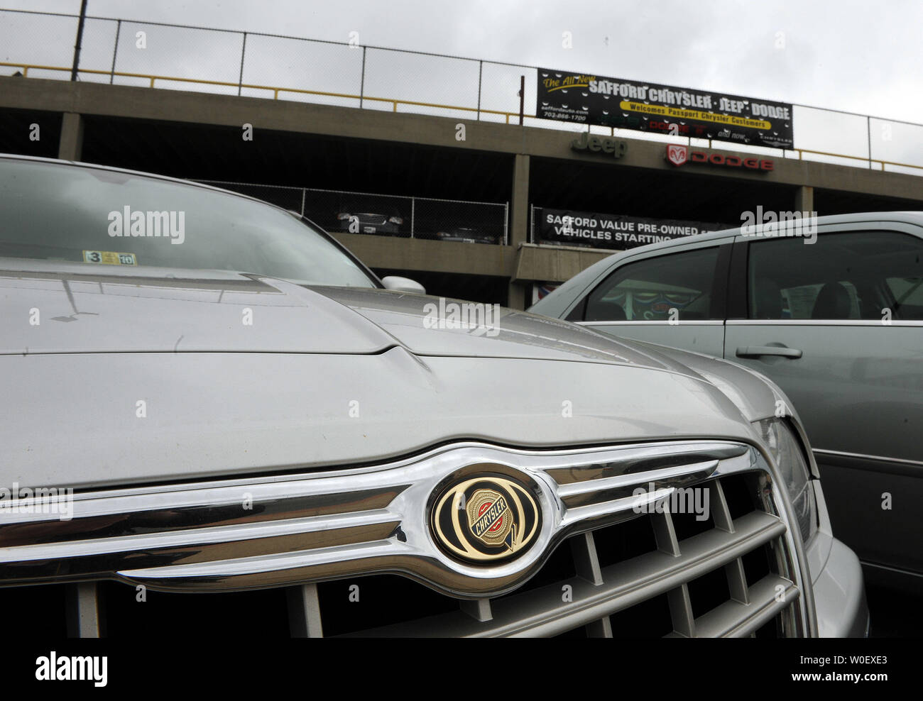 Springfield Car Dealerships >> A Chrysler Is Seen On The Lot At A Chrysler Jeep Dodge