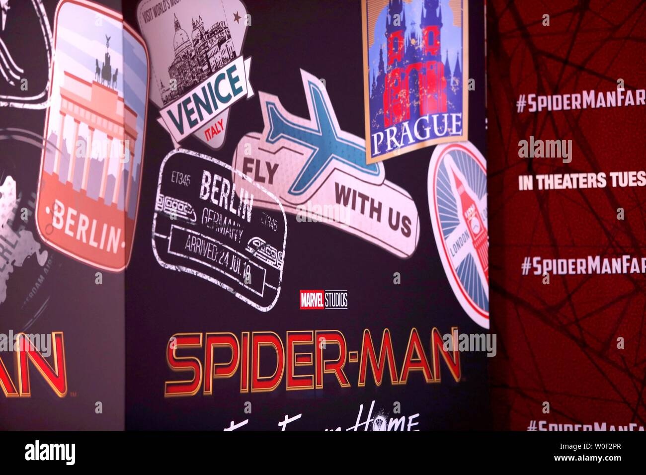 General Atmosphere at arrivals for SPIDER-MAN FAR FROM HOME Premiere, TCL Chinese Theatre, Hollywood, CA June 26, 2019. Photo By: Priscilla Grant/Everett Collection Stock Photo