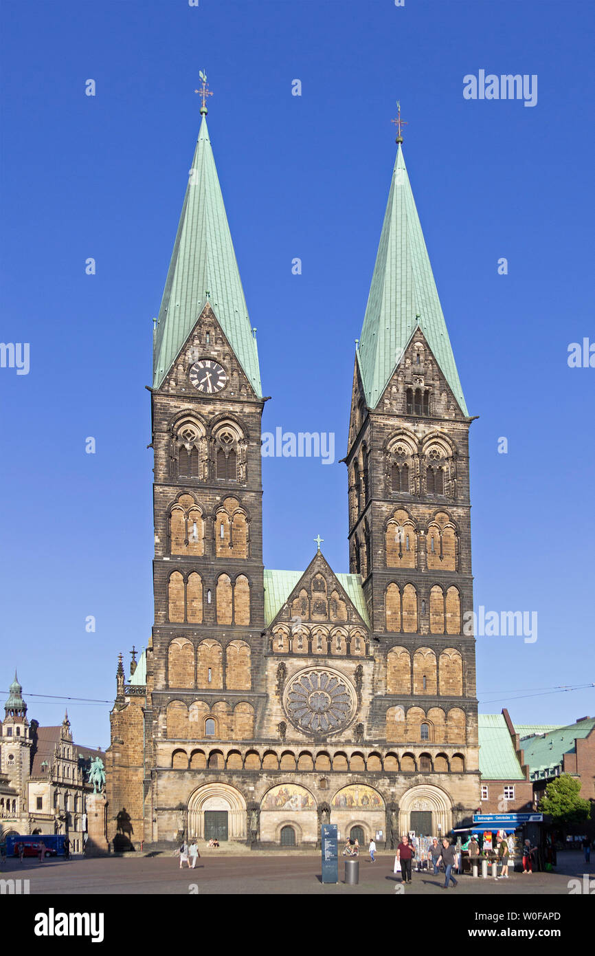 St. Peters cathedral, Bremen, Germany Stock Photo
