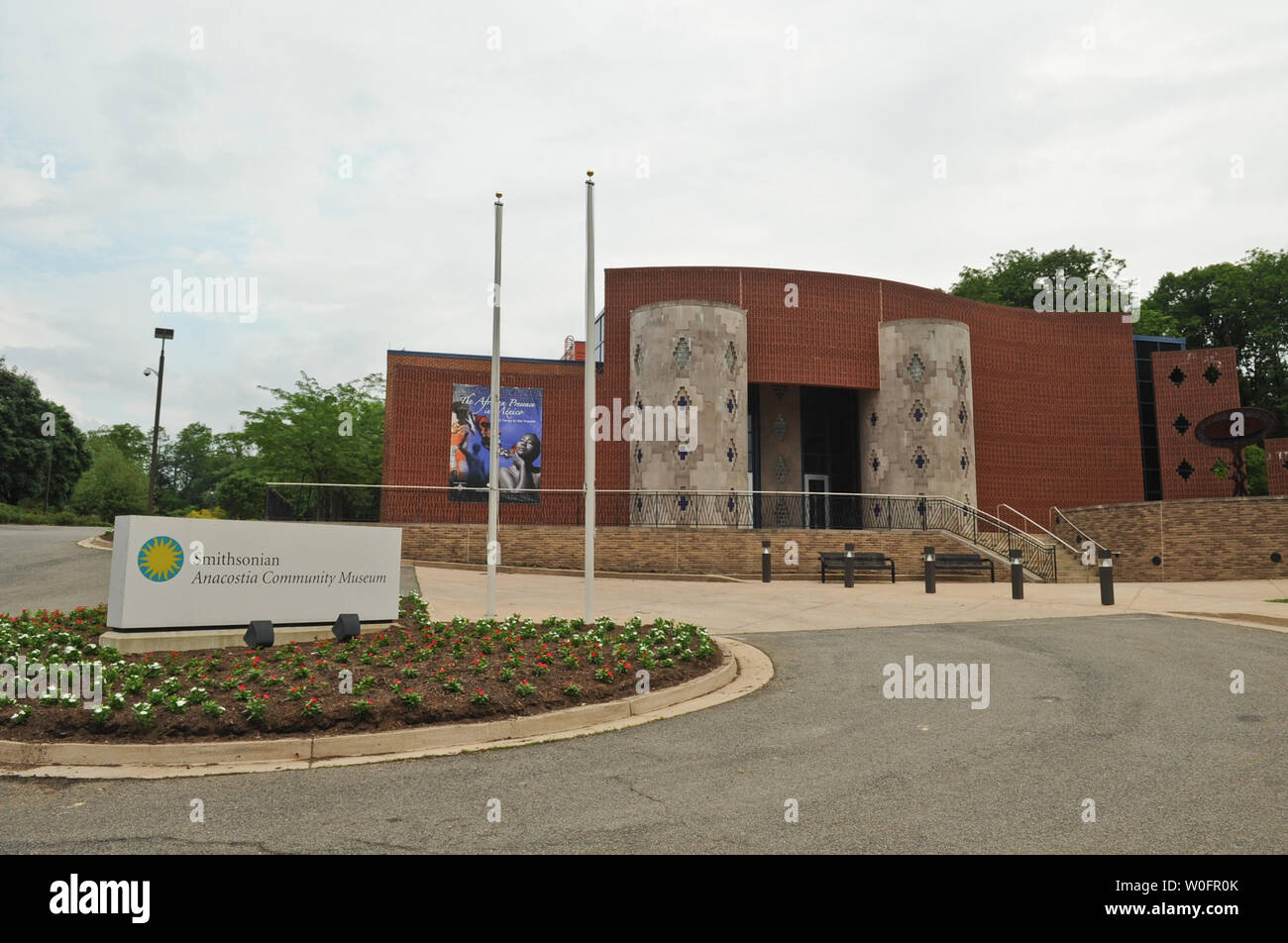 The Smithsonian Anacostia Community Museum is seen in Washington on May 22, 2010. UPI/Alexis C. Glenn Stock Photo