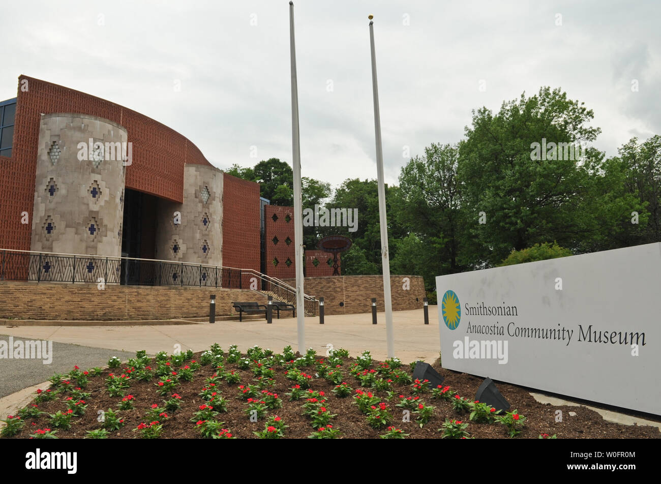 The Smithsonian Anacostia Community Museum is seen in Washington on May 22, 2010. UPI/Alexis C. Glenn Stock Photo
