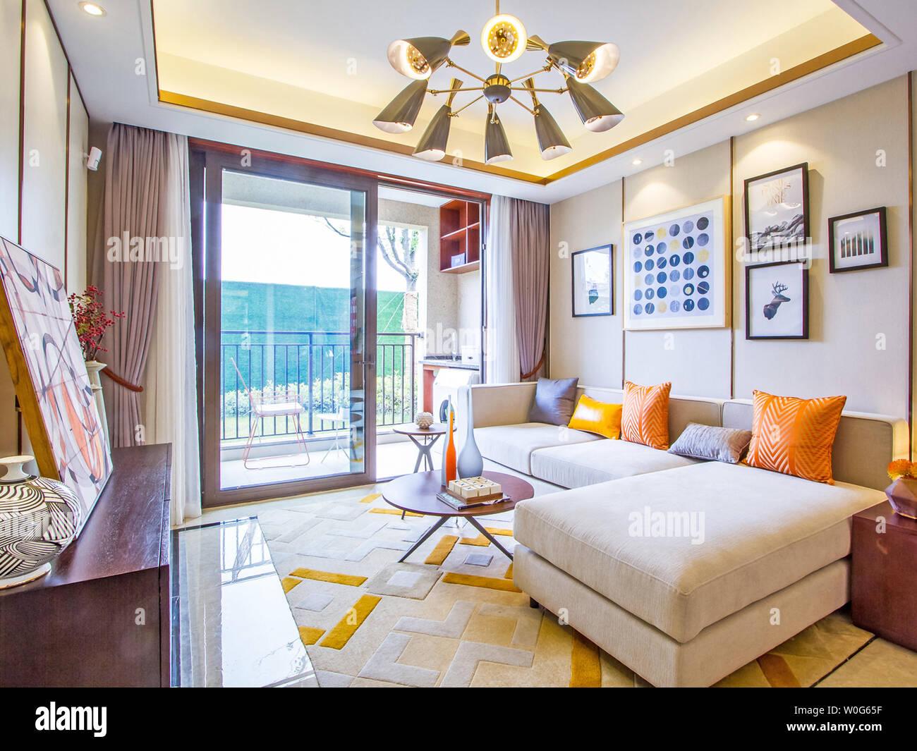 Living Room Hall Decoration Luxury Interior Design Decoration