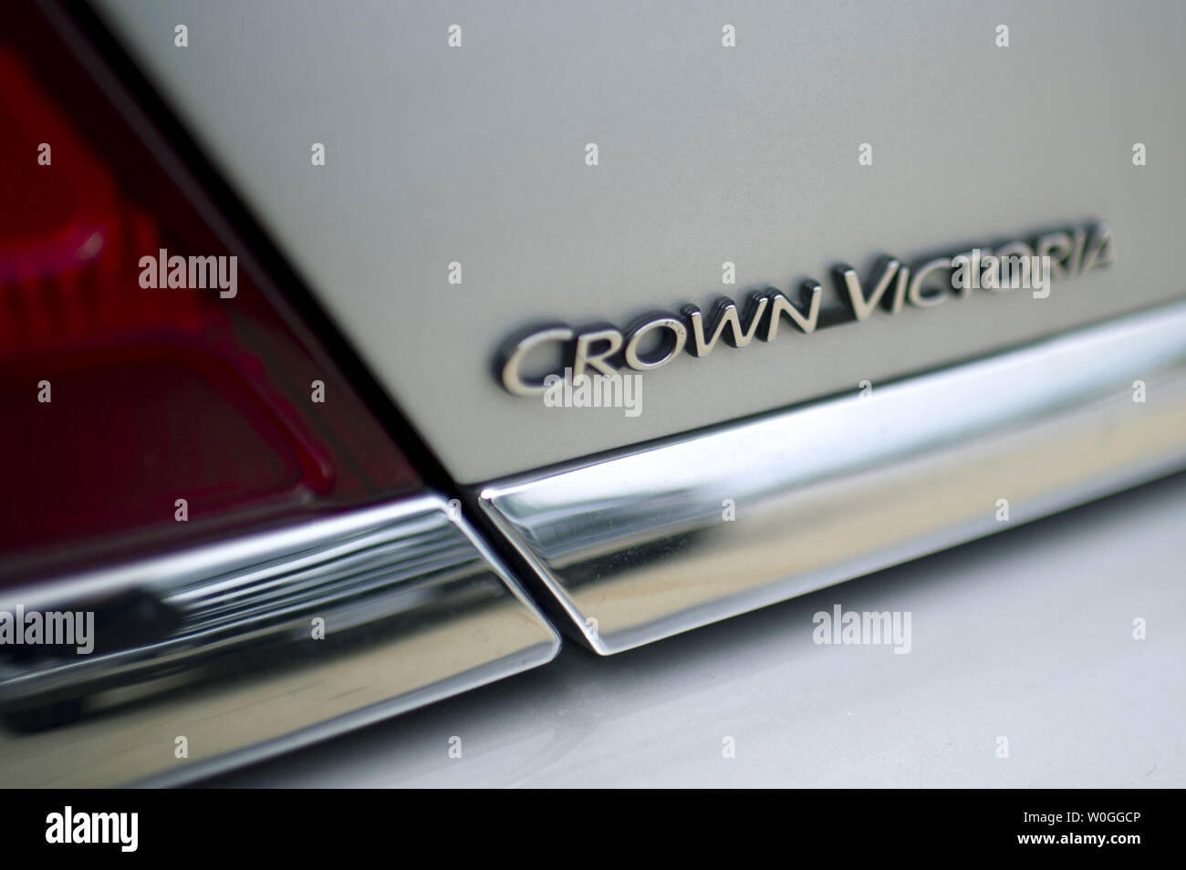 A Ford Crown Victory is seen in a parking lot in Maryland on