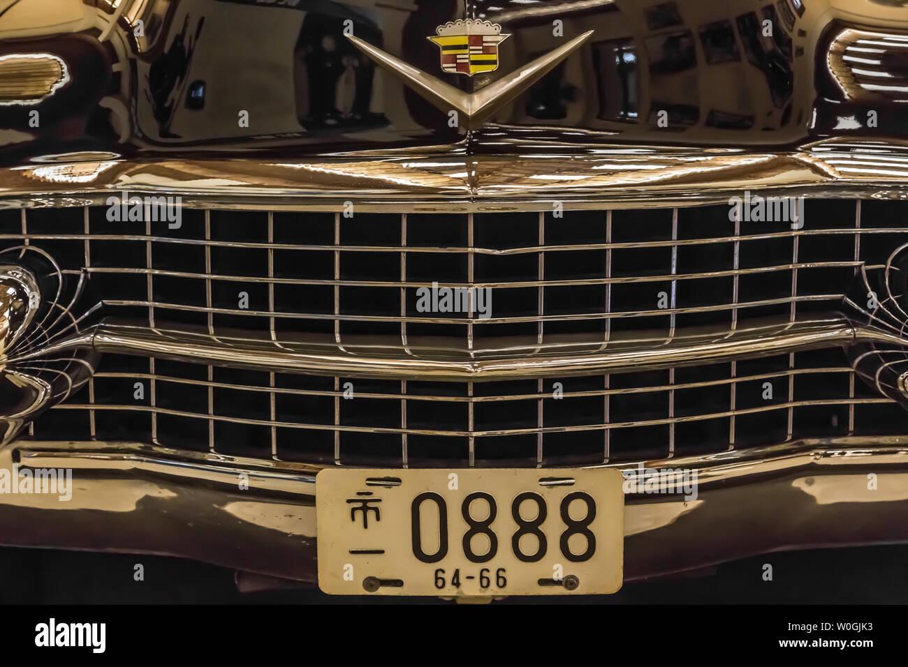 Taiwan,Taipei-05 SEP 2017: Chiang Kai shek car display in memorial hall - Stock Image