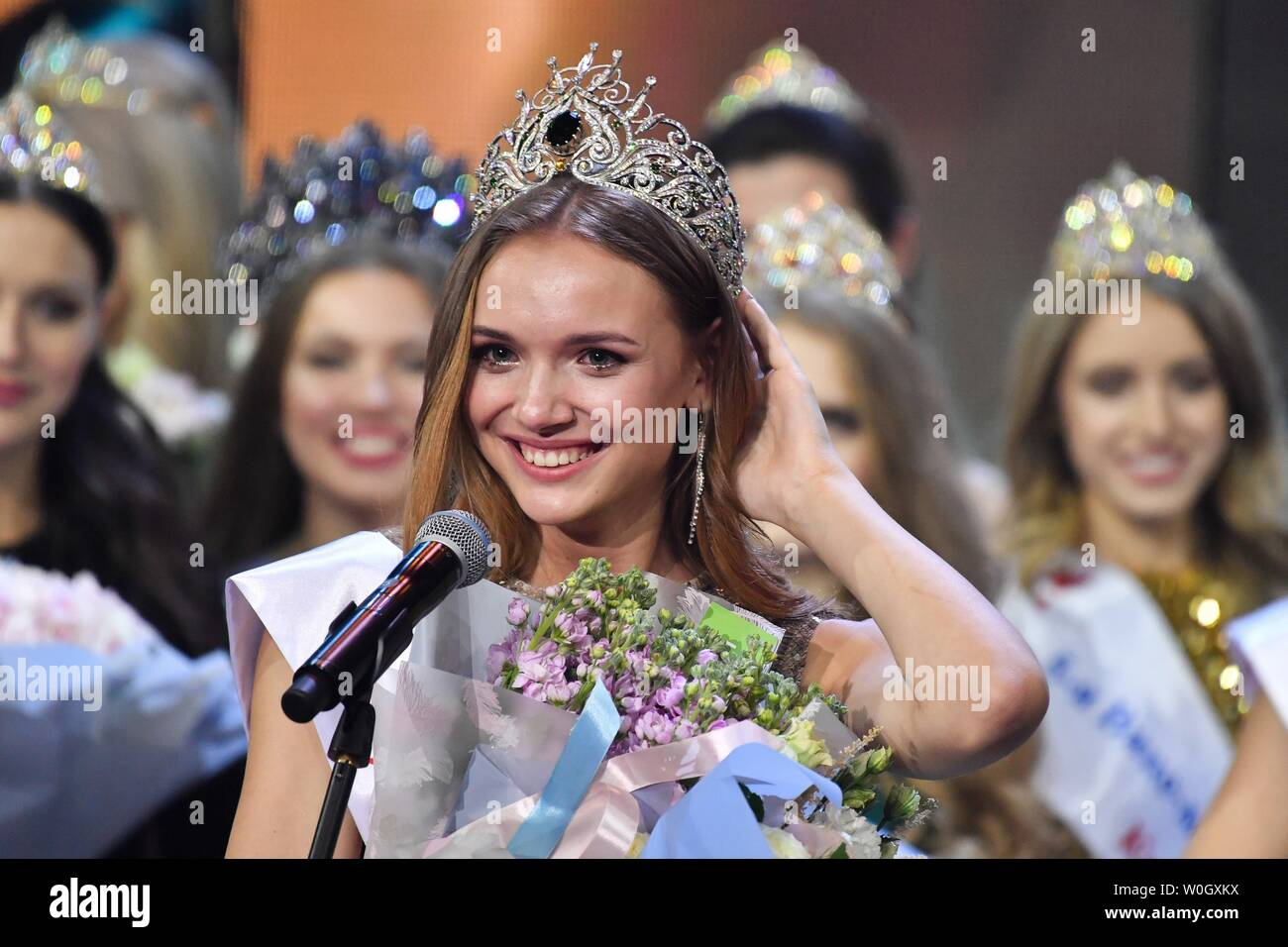 June 26, 2019  - Russia, Moscow  - 2019 Krasa Rossii beauty