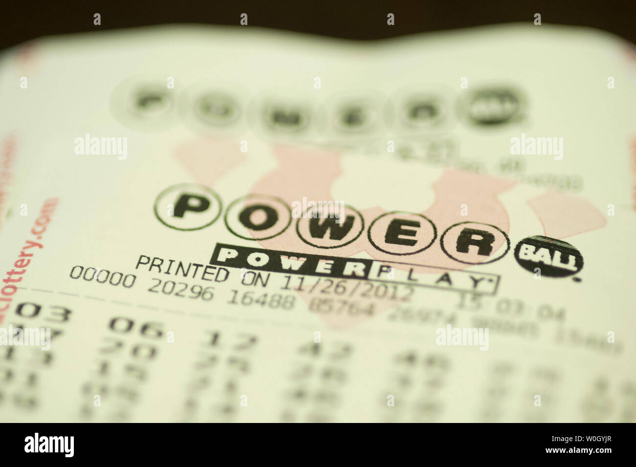 State Lottery Stock Photos & State Lottery Stock Images - Alamy