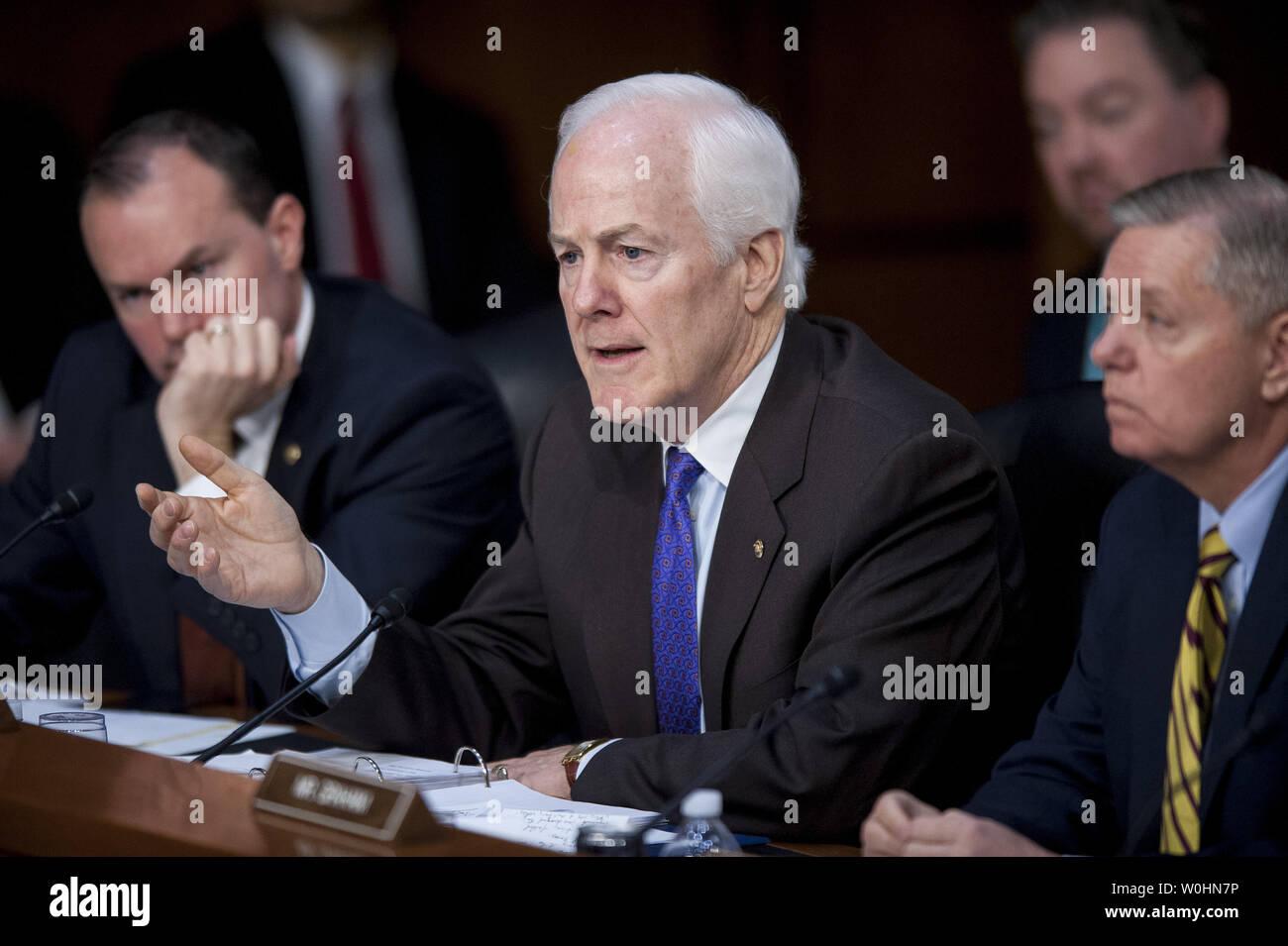 Senator John Cornyn (R-TX) questions Loretta Lynch, United