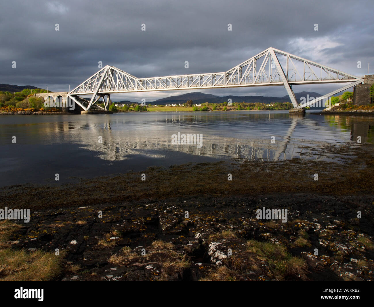Connel bridge, Scotland - Stock Image