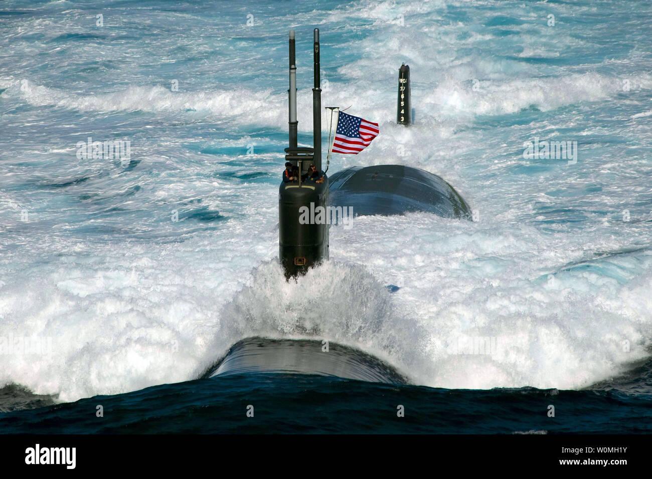 Attack Submarine Stock Photos & Attack Submarine Stock