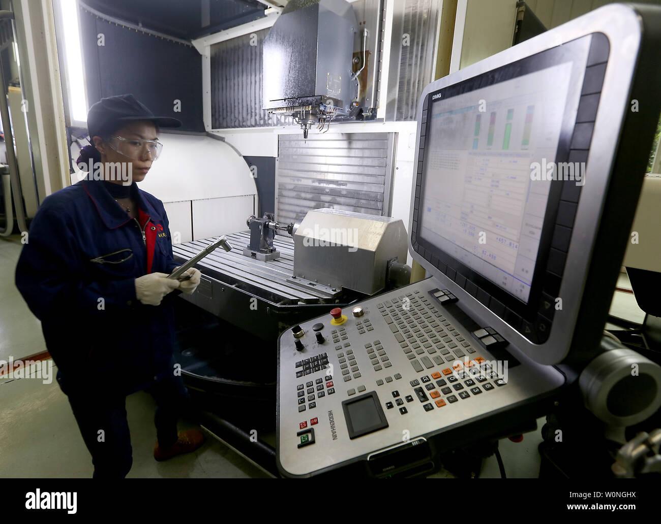 Gas Turbine Manufacturing Stock Photos & Gas Turbine