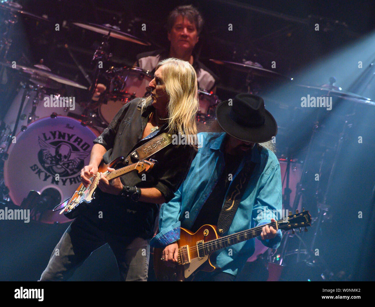 Glasgow, Scotland, UK. 26th June, 2019. American Southern Rocker Lynyrd Skynyrd play their last ever Scottish Show in Glasgow's SSE Hydro, Great Britain. Credit: Stuart Westwood Stock Photo