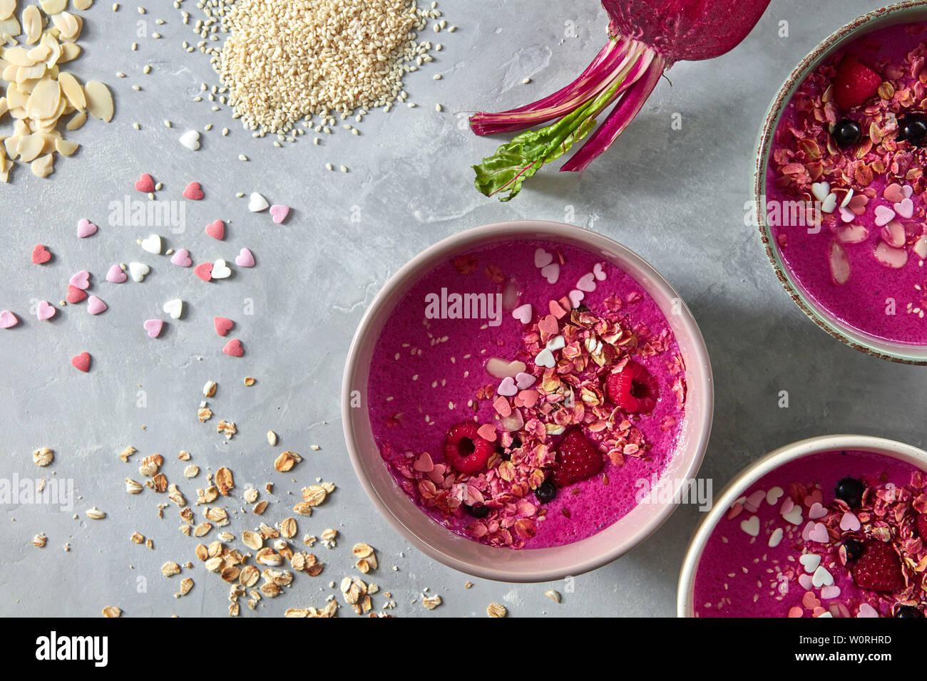 healthy diet,breakfast,smoothie - Stock Image