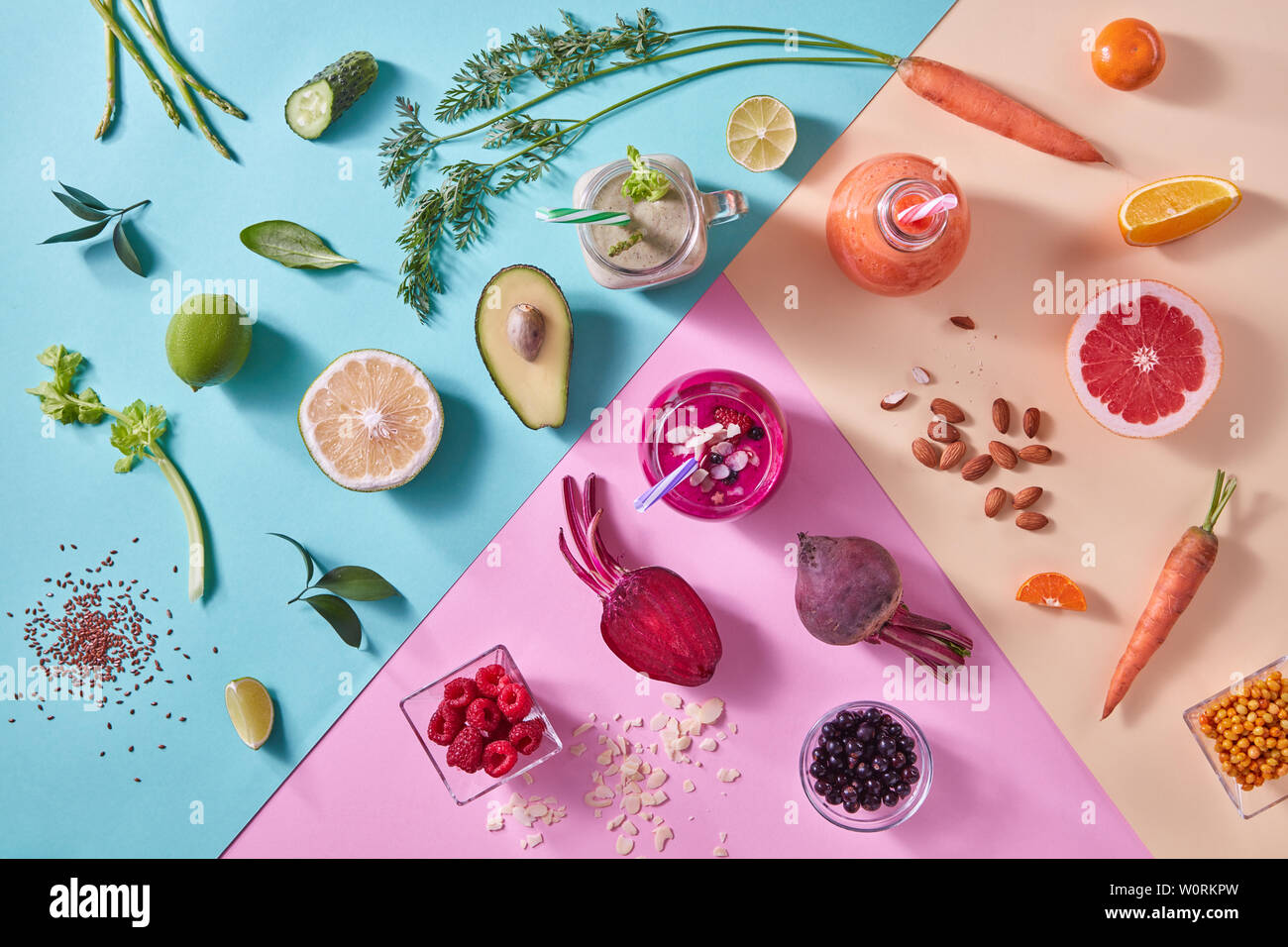 healthy diet,smoothie - Stock Image