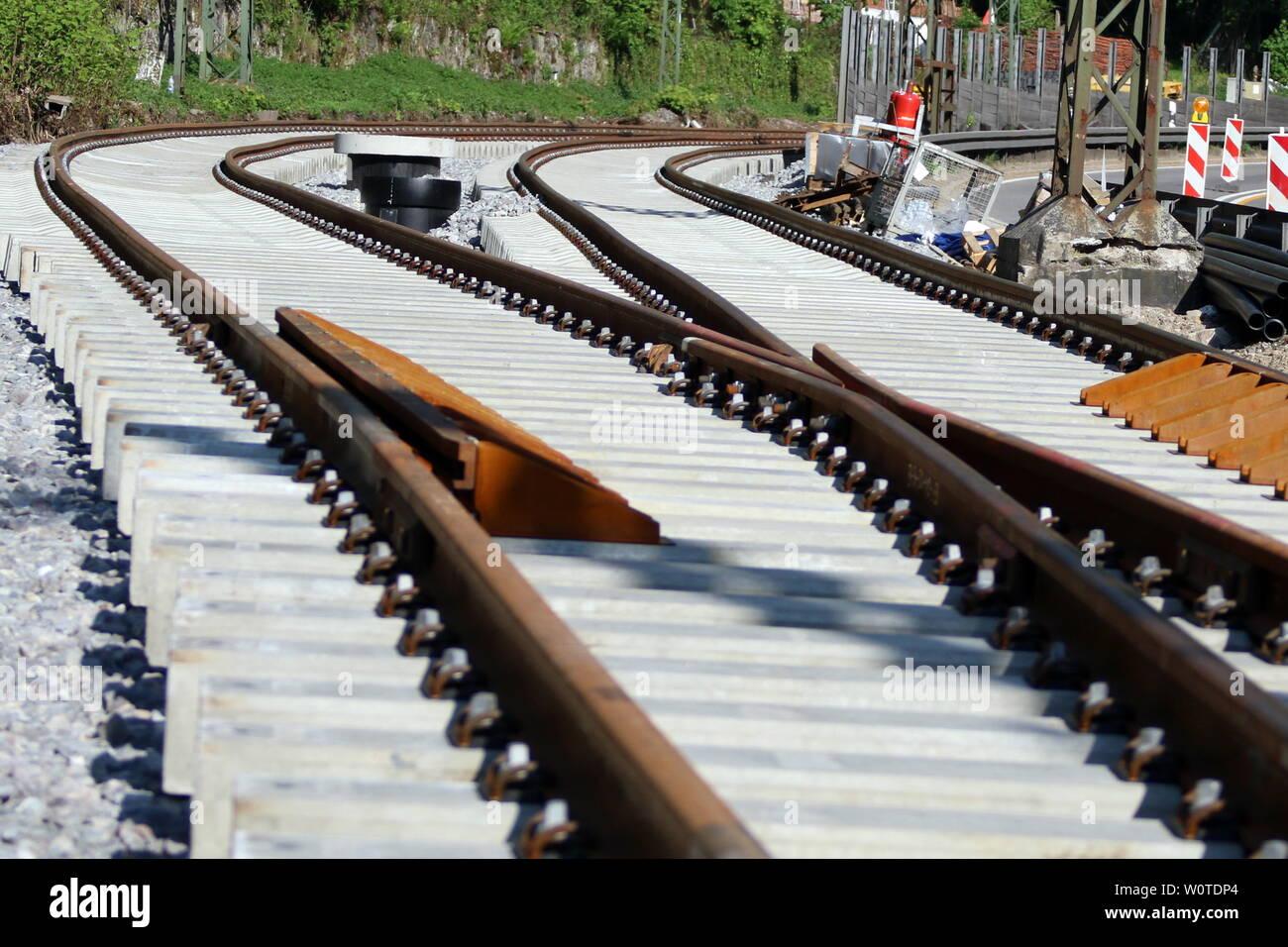 Themenbild: Busse und Bahnen Stock Photo