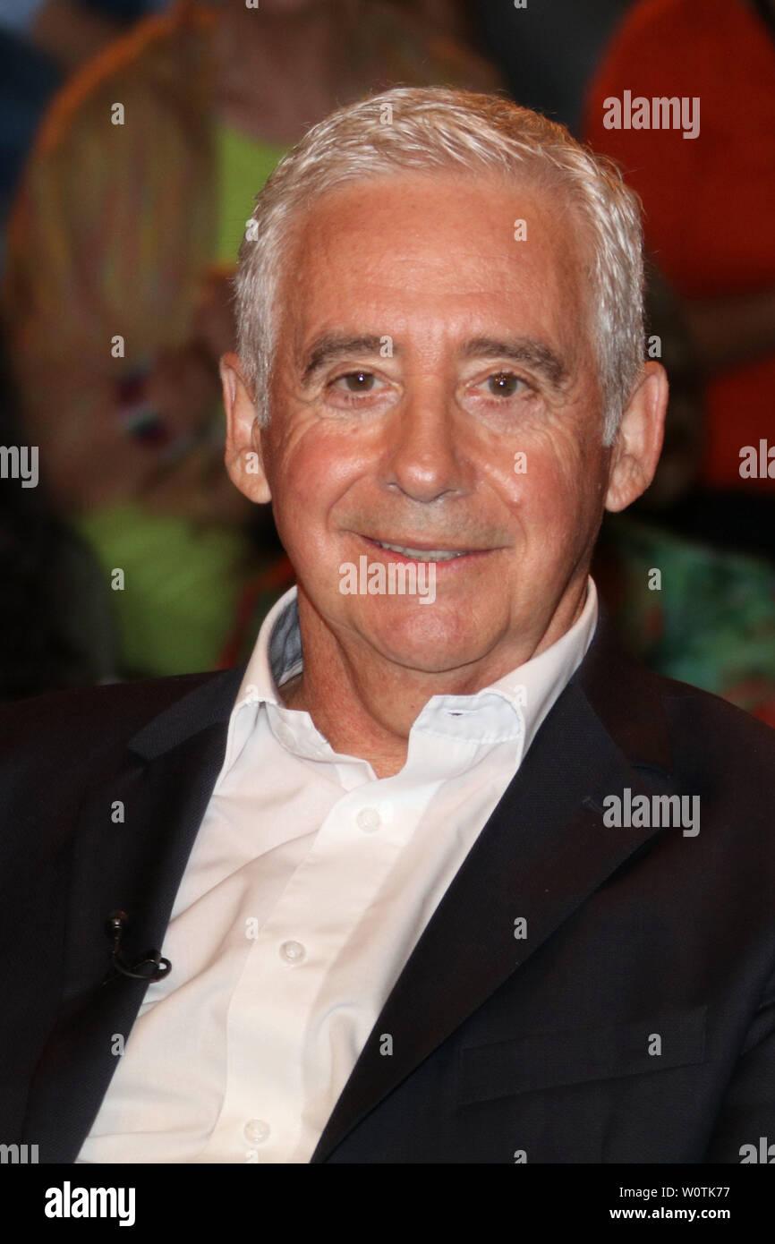 Erwin Kremers, Ex-Profis, Lanz, Sendung 2 vom 11.07.2018, Hamburg - Stock Image