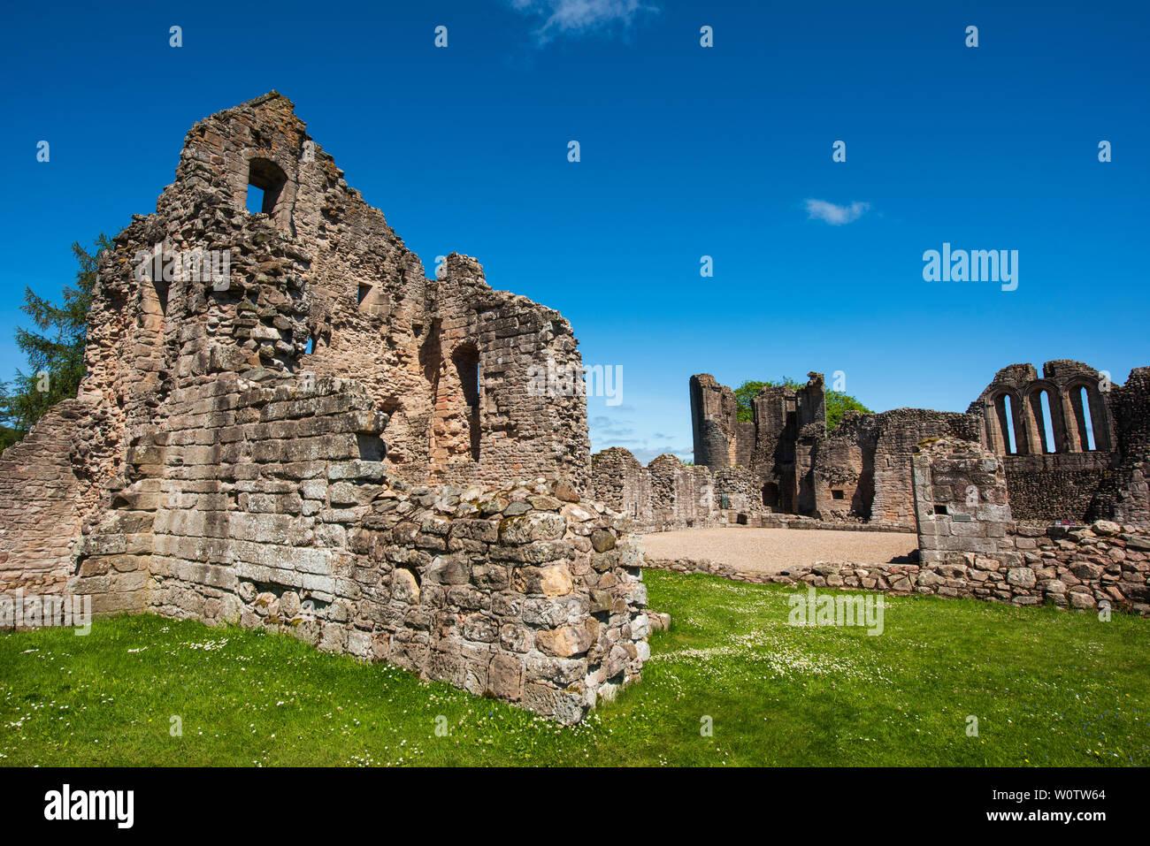 Kildrummy Castle, Aberdeenshire, Scotland. - Stock Image
