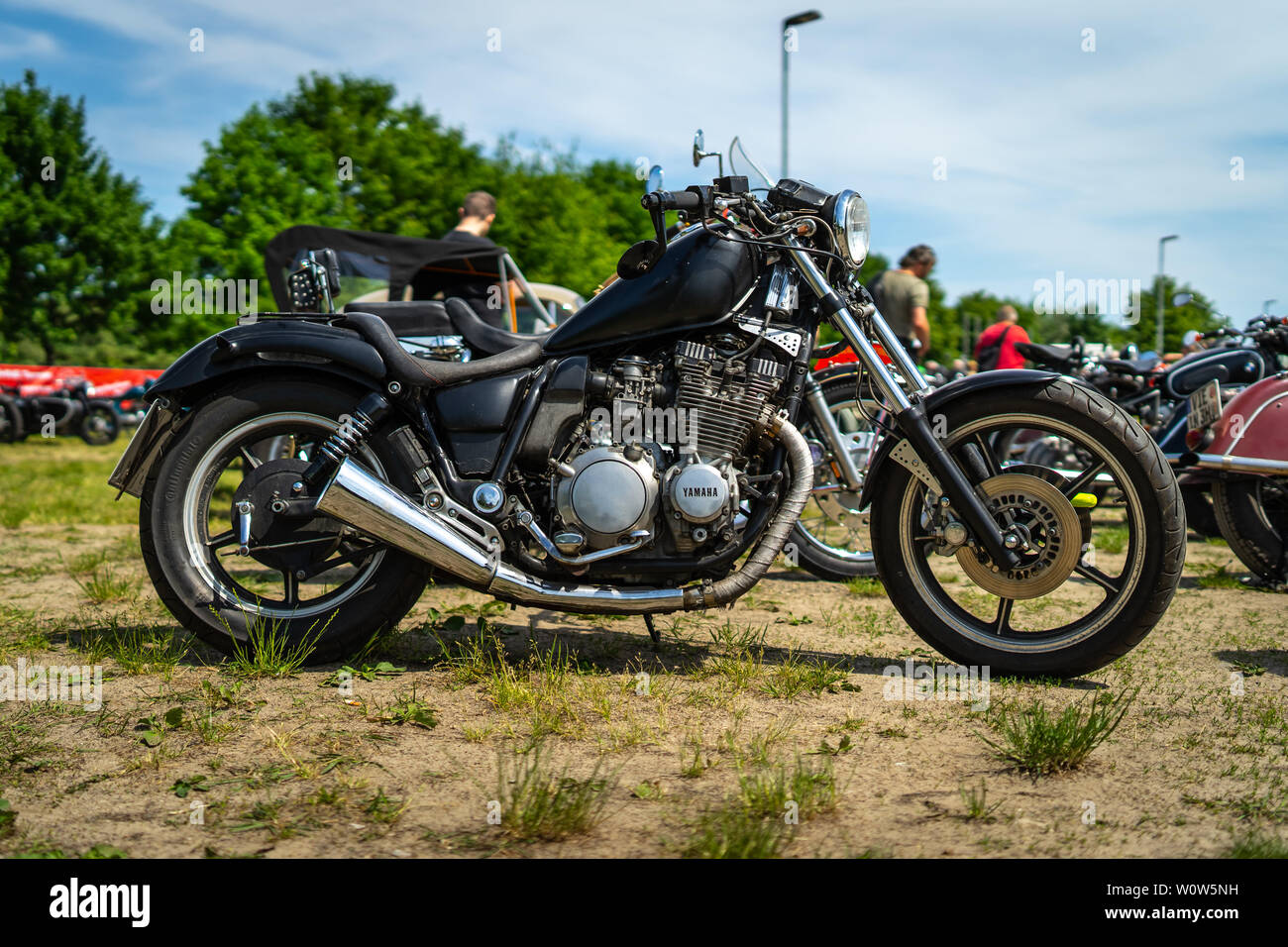 Retro Yamaha Stock Photos & Retro Yamaha Stock Images - Alamy