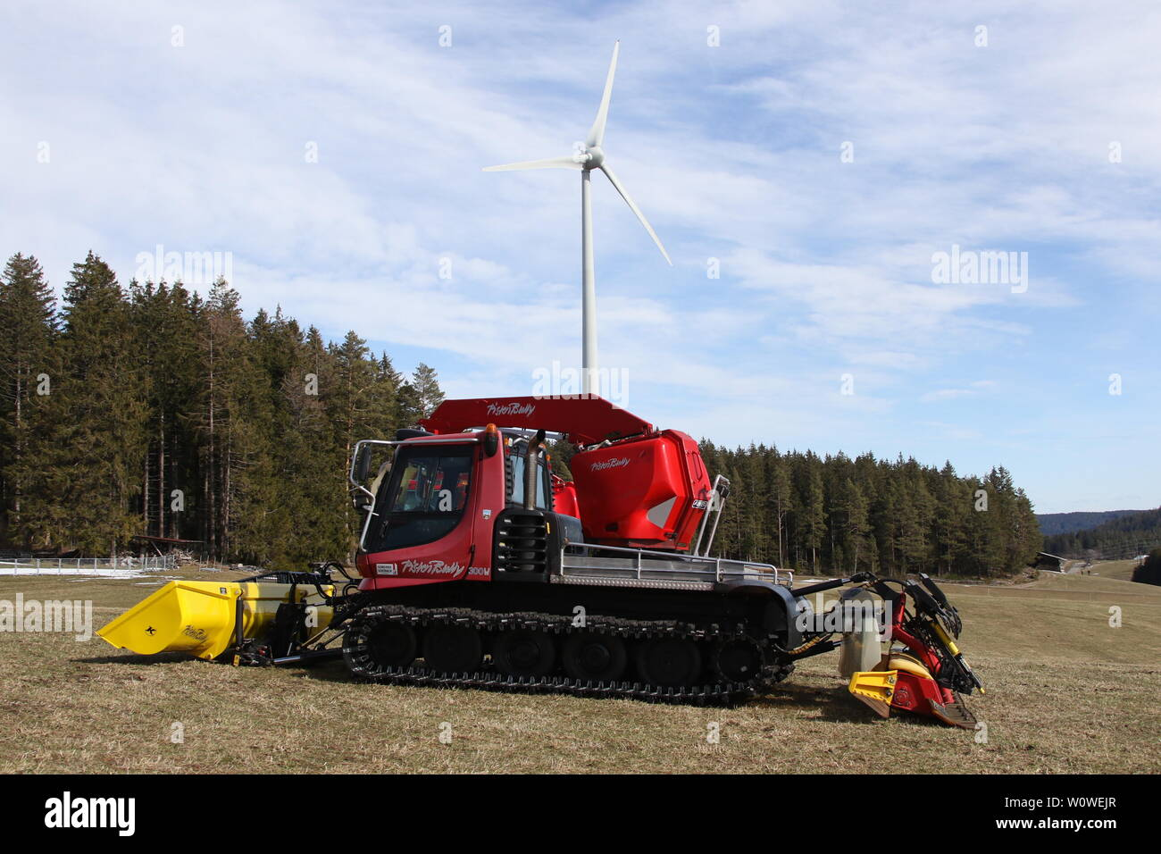Pistenbully Stock Photos & Pistenbully Stock Images - Alamy