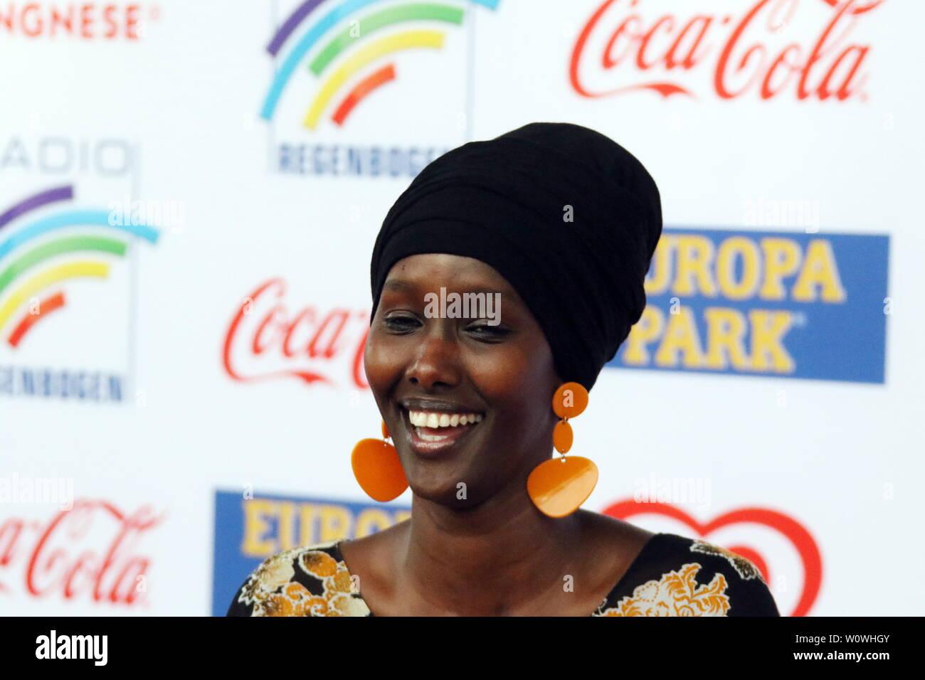 Fatuma Musa Afrah beim Radio Regenbogen Award Rust 2019 Stock Photo