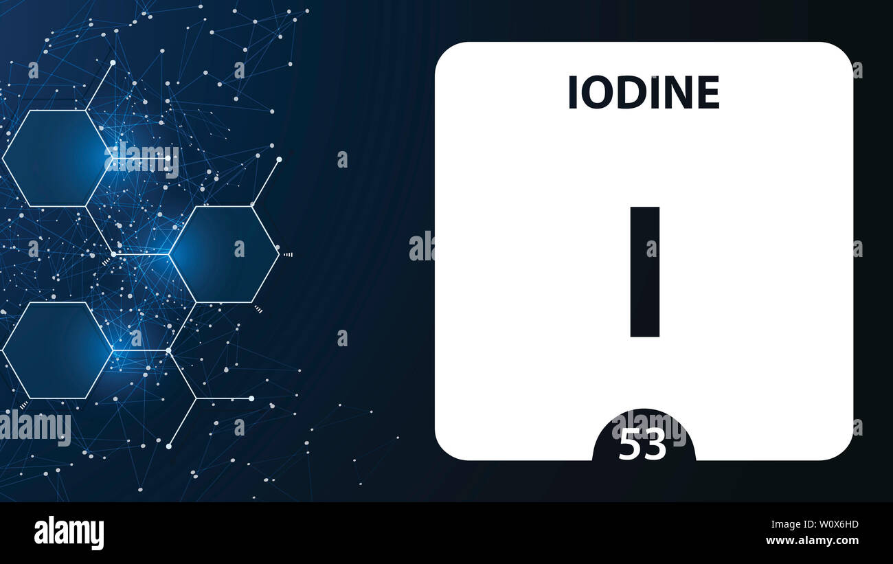 iodine 53 element  alkaline earth metals  chemical element of mendeleev  periodic table  iodine