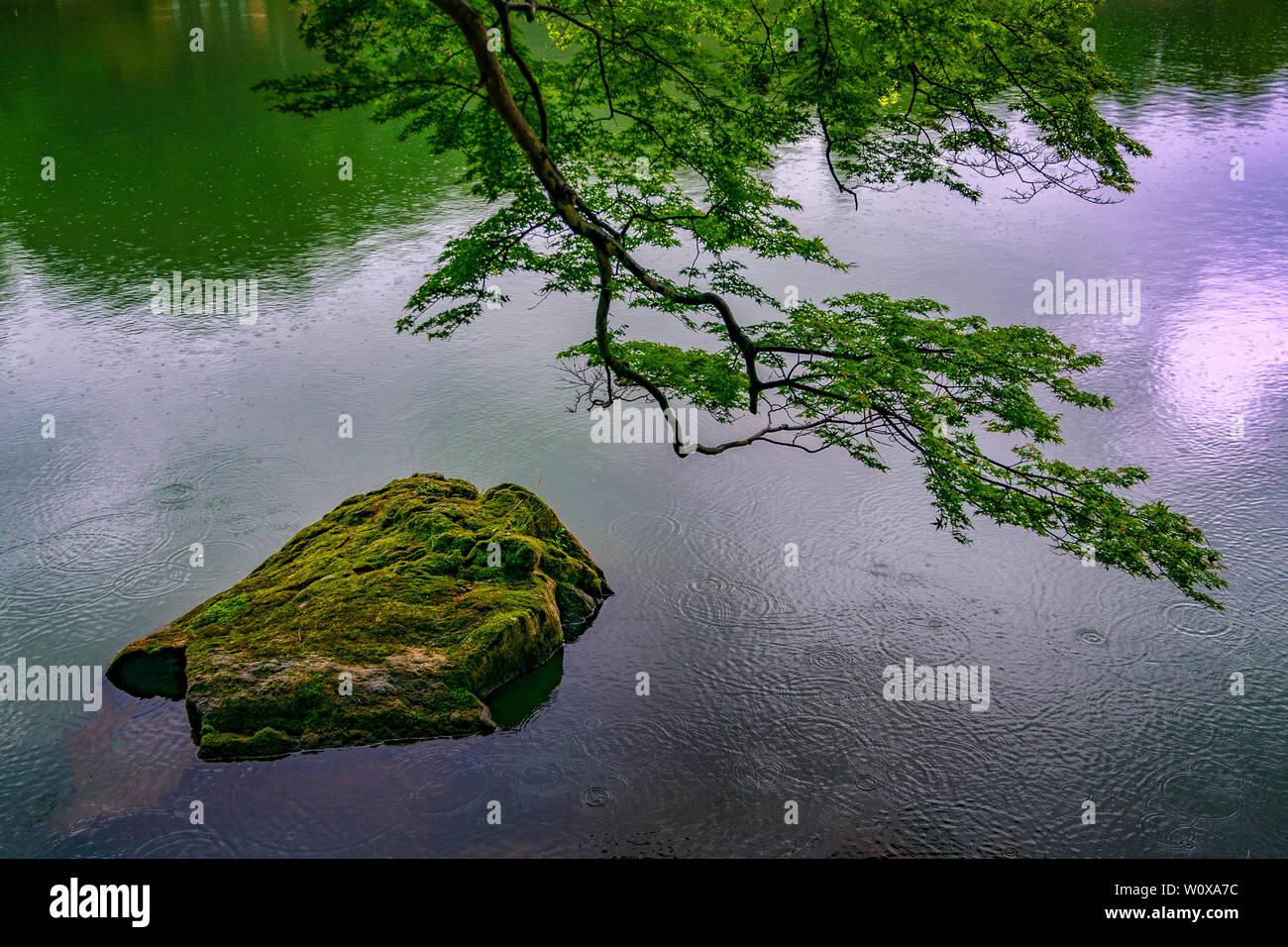 Arashiyama historical scenic site Stock Photo