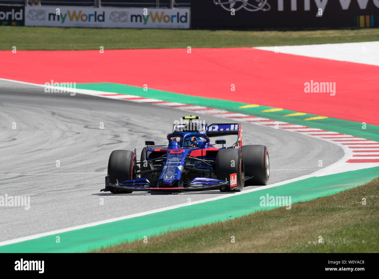 Formula 1 championship round at the A1 Red Bull Ring in Spielberg Austria Stock Photo
