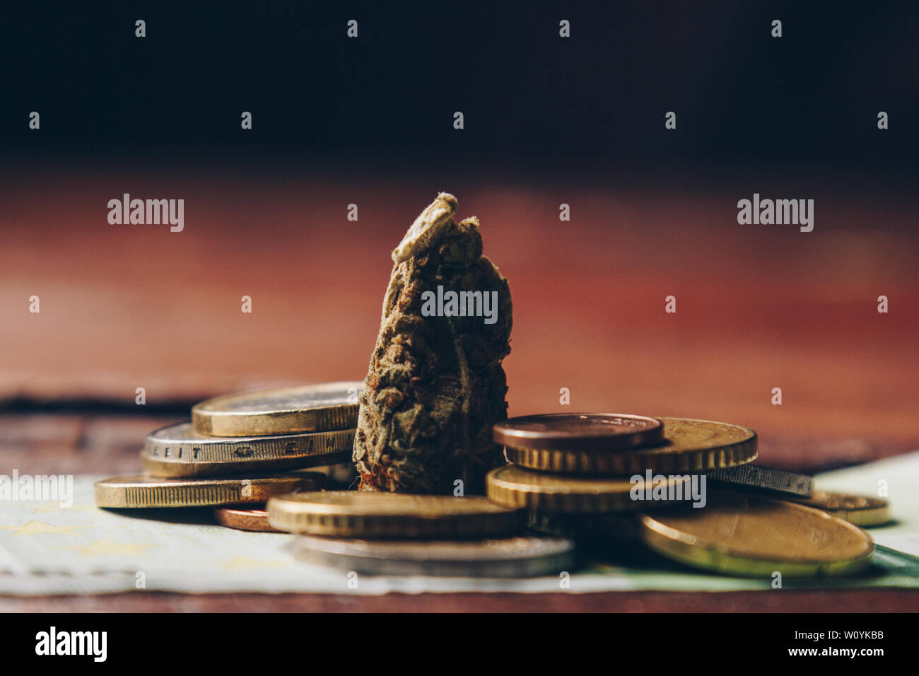 Cannabis Coin Stock Photos & Cannabis Coin Stock Images - Alamy