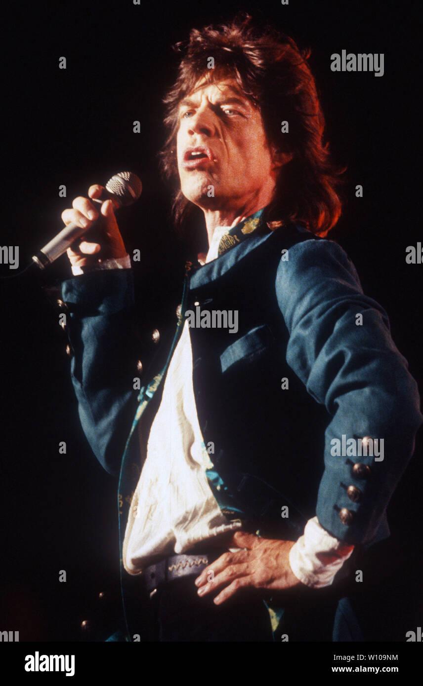 Mick Jagger 1994 Photo By Michael Ferguson/PHOTOlink.net - Stock Image