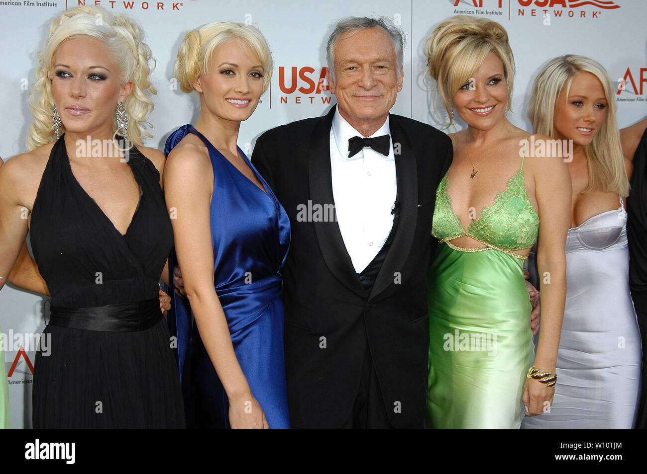 Hugh Hefner And Playmates High Resolution Stock Photography And Images Alamy