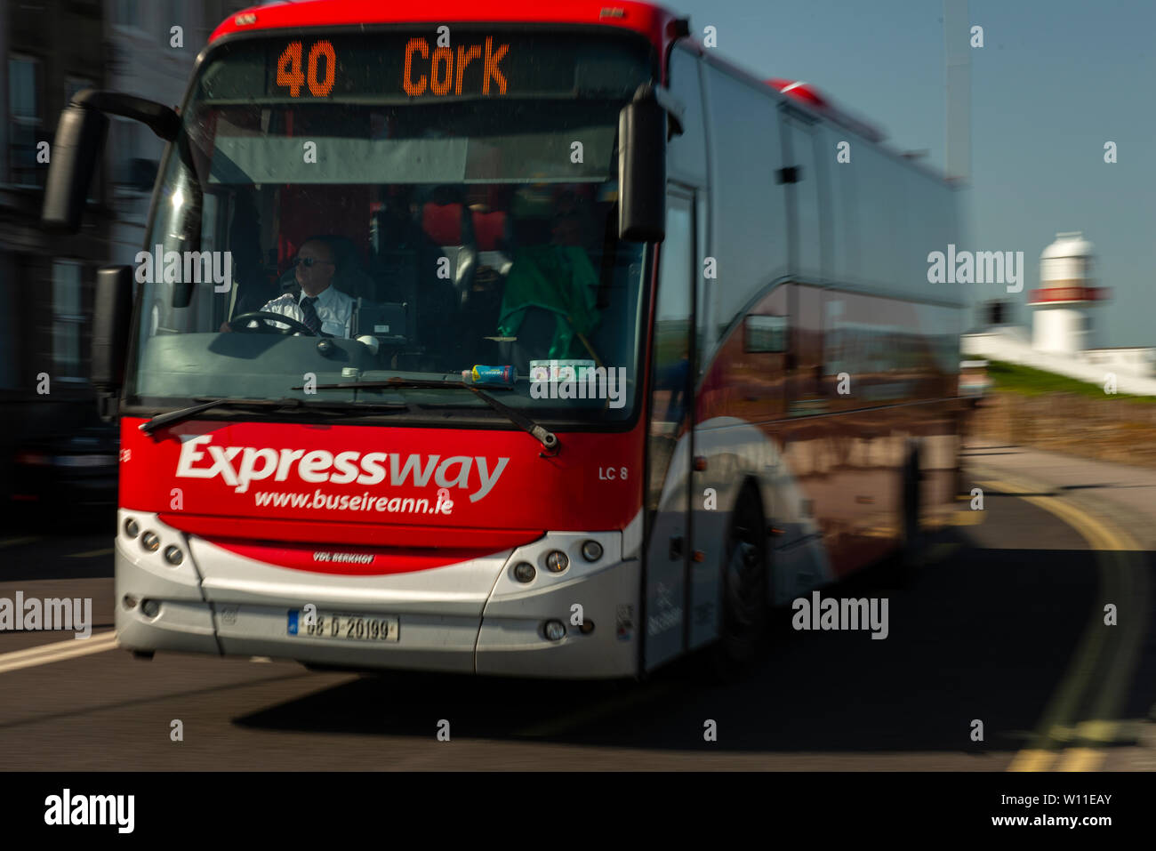 Youghal, County Cork, Ireland  27 June 2019  Expressway coach by Bus