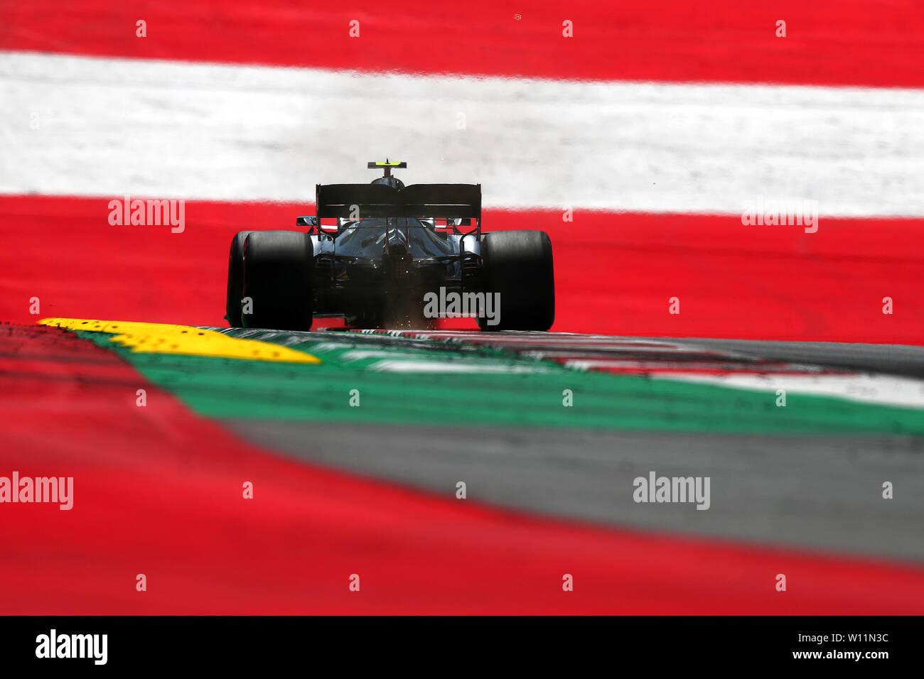 #44 Lewis Hamilton Mercedes AMG Team F1. Austrian Grand Prix 2019 Spielberg. Zeltweg 29/06/2019 GP Austria Formula 1 Championship 2019 Race Photo Federico Basile/Insidefoto Credit: insidefoto srl/Alamy Live News Stock Photo