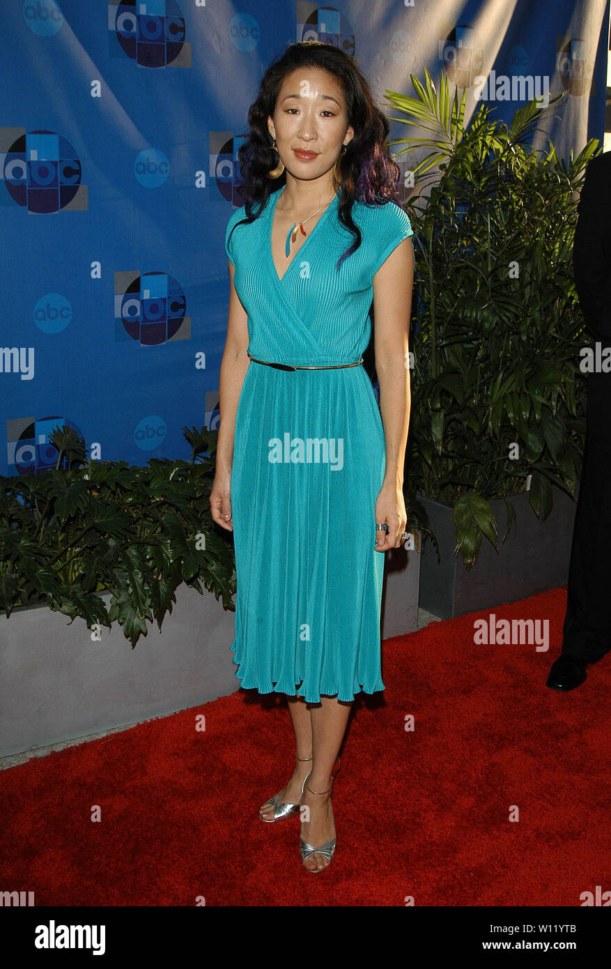 Sandra Oh at the 2004 ABC All-Star Party at C2 Cafe in Century City, CA. The event took place on Tuesday, July 13, 2004.  Photo by: SBM / PictureLux - All Rights Reserved   - File Reference # 33790-6705SBMPLX Stock Photo