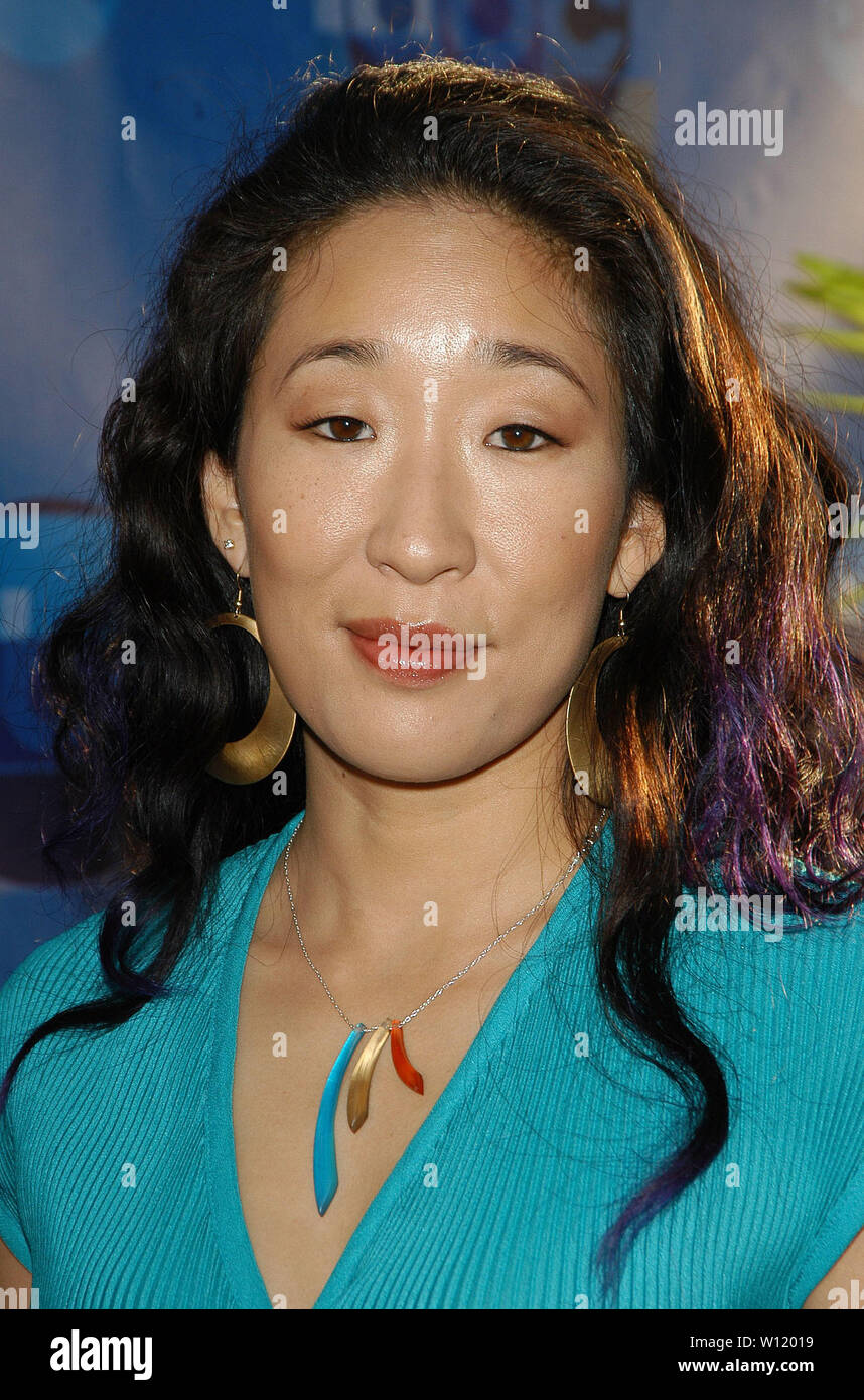 Sandra Oh at the 2004 ABC All-Star Party at C2 Cafe in Century City, CA. The event took place on Tuesday, July 13, 2004.  Photo by: SBM / PictureLux - All Rights Reserved   - File Reference # 33790-6704SBMPLX - Stock Image