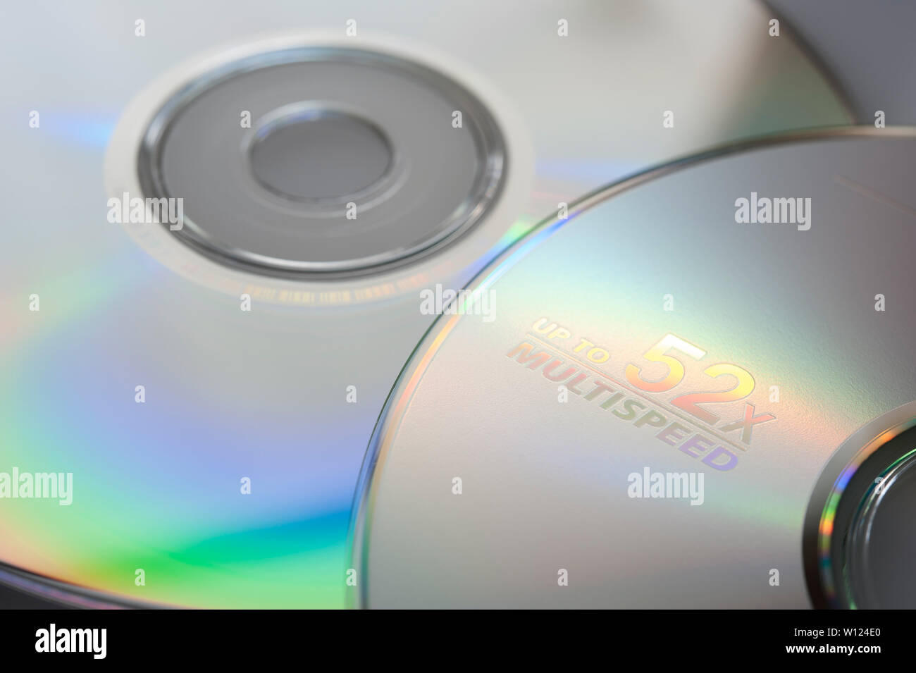 CD/DVD texture background - Stock Image