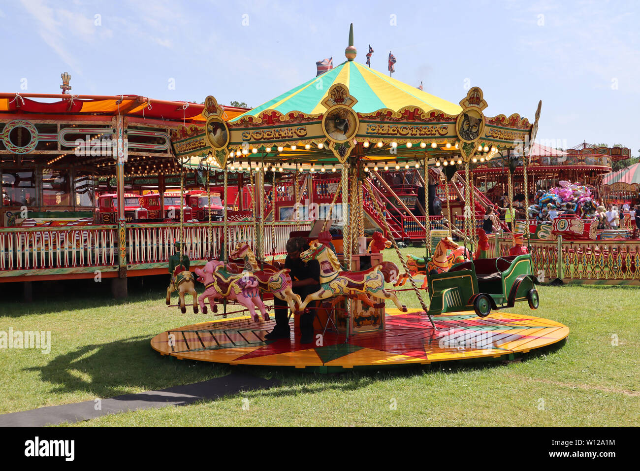 Carters Steam Fair Peckham Rye Common London Uk 29 June 2019
