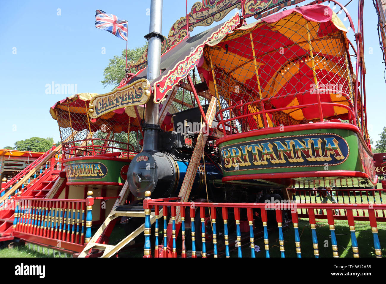 Excelsior Steam Yachts Carters Steam Fair Peckham Rye Common