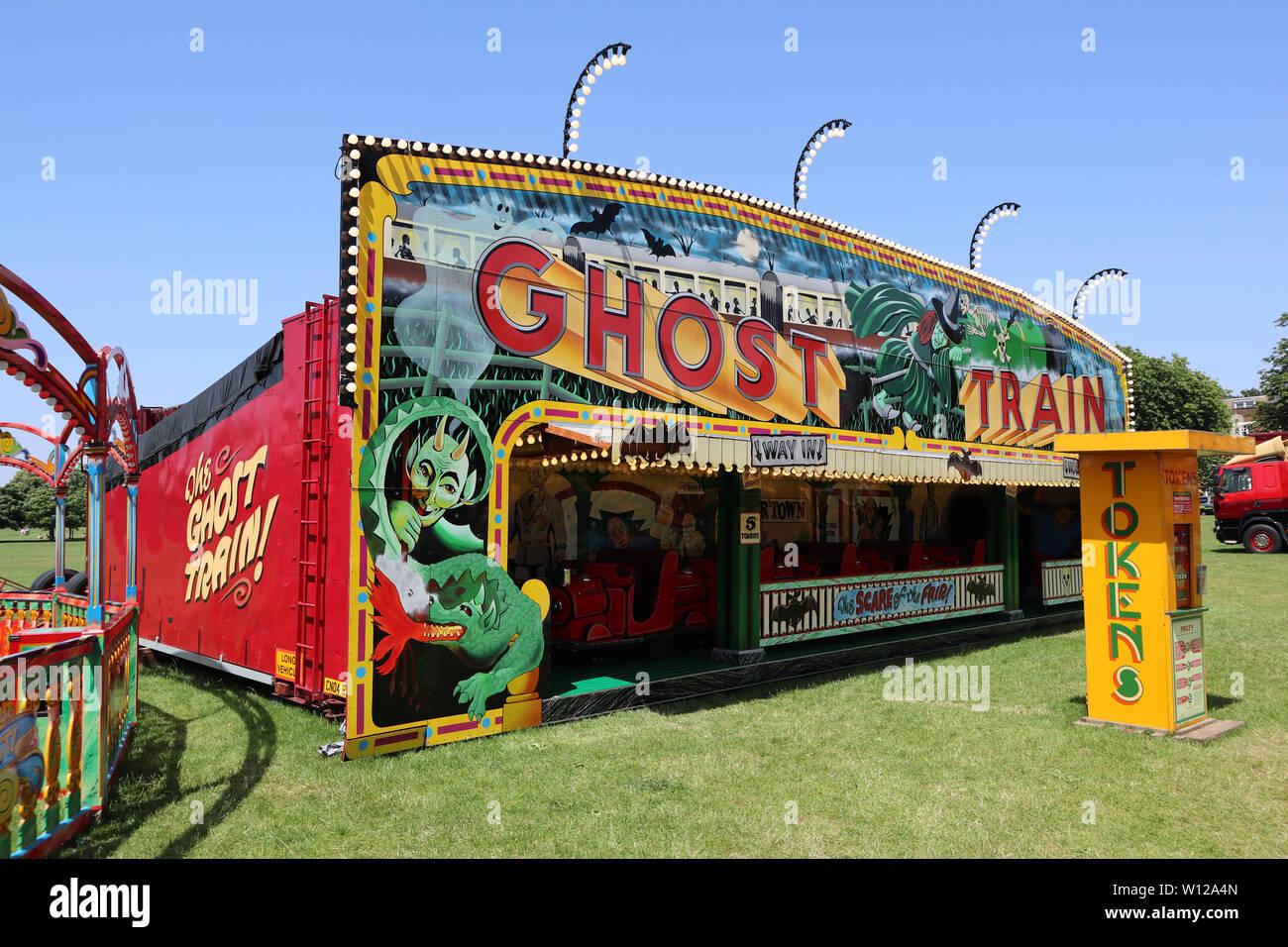 Ghost Train Carters Steam Fair Peckham Rye Common London Uk 29
