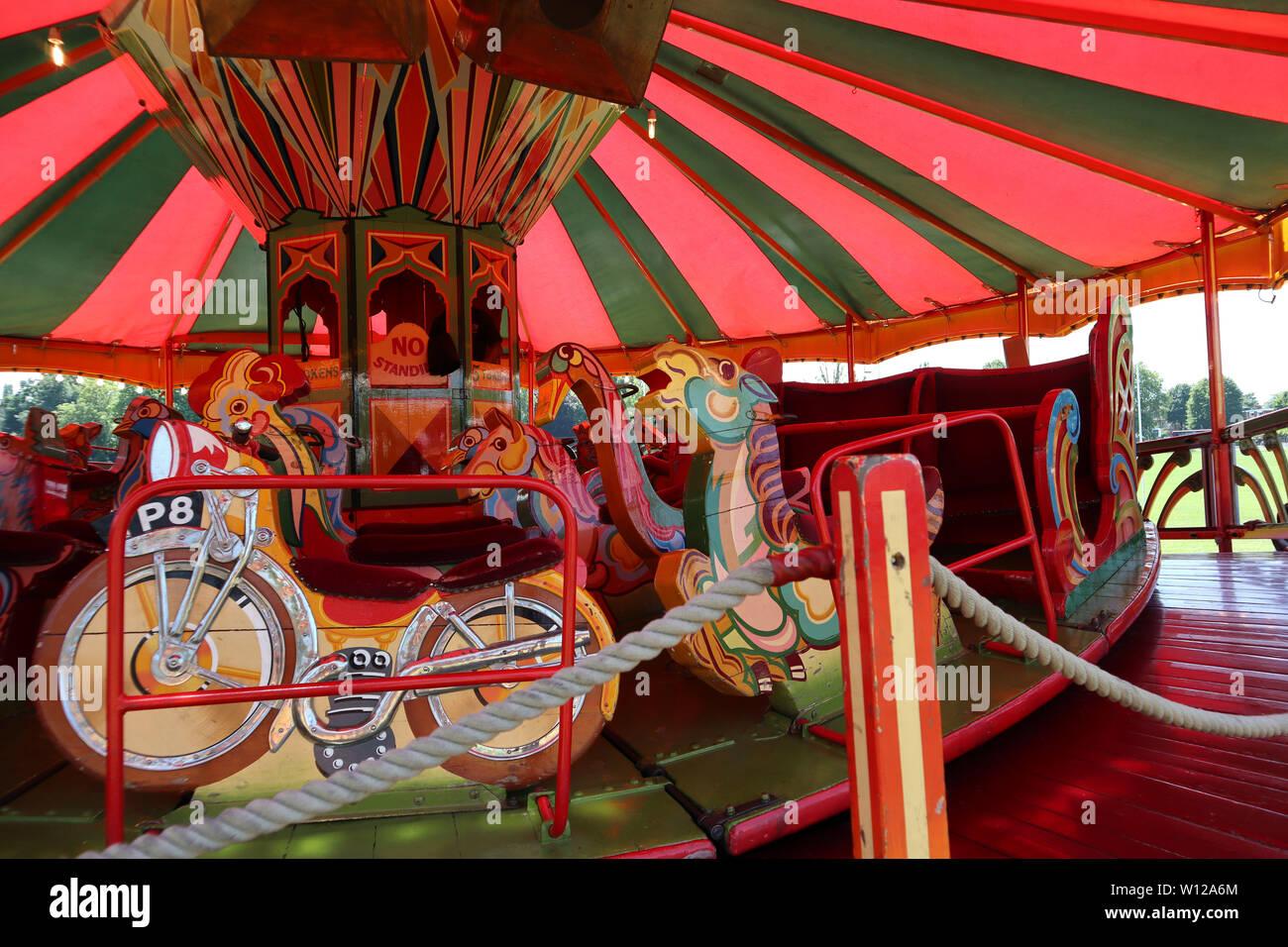 Jungle Thriller Ark, Carters Steam Fair, Peckham Rye Common