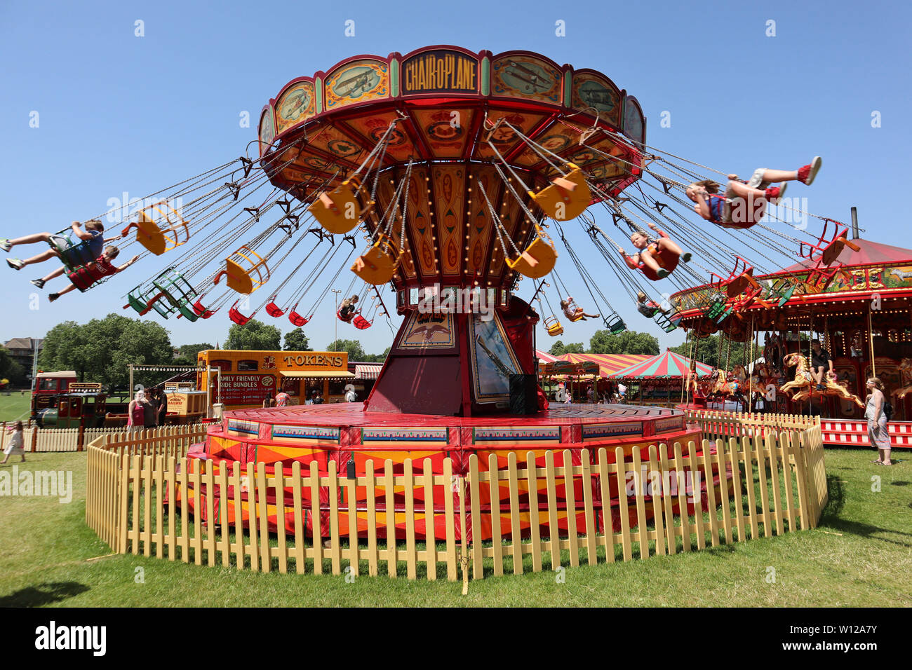 Paramount Chair O Plane Carters Steam Fair Peckham Rye Common