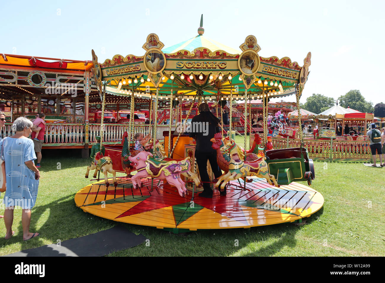 The Dobbies Carters Steam Fair Peckham Rye Common London Uk 29