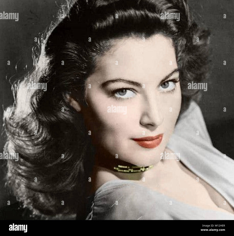 Actress Ava Gardner 1954 Celebrity Photo Print