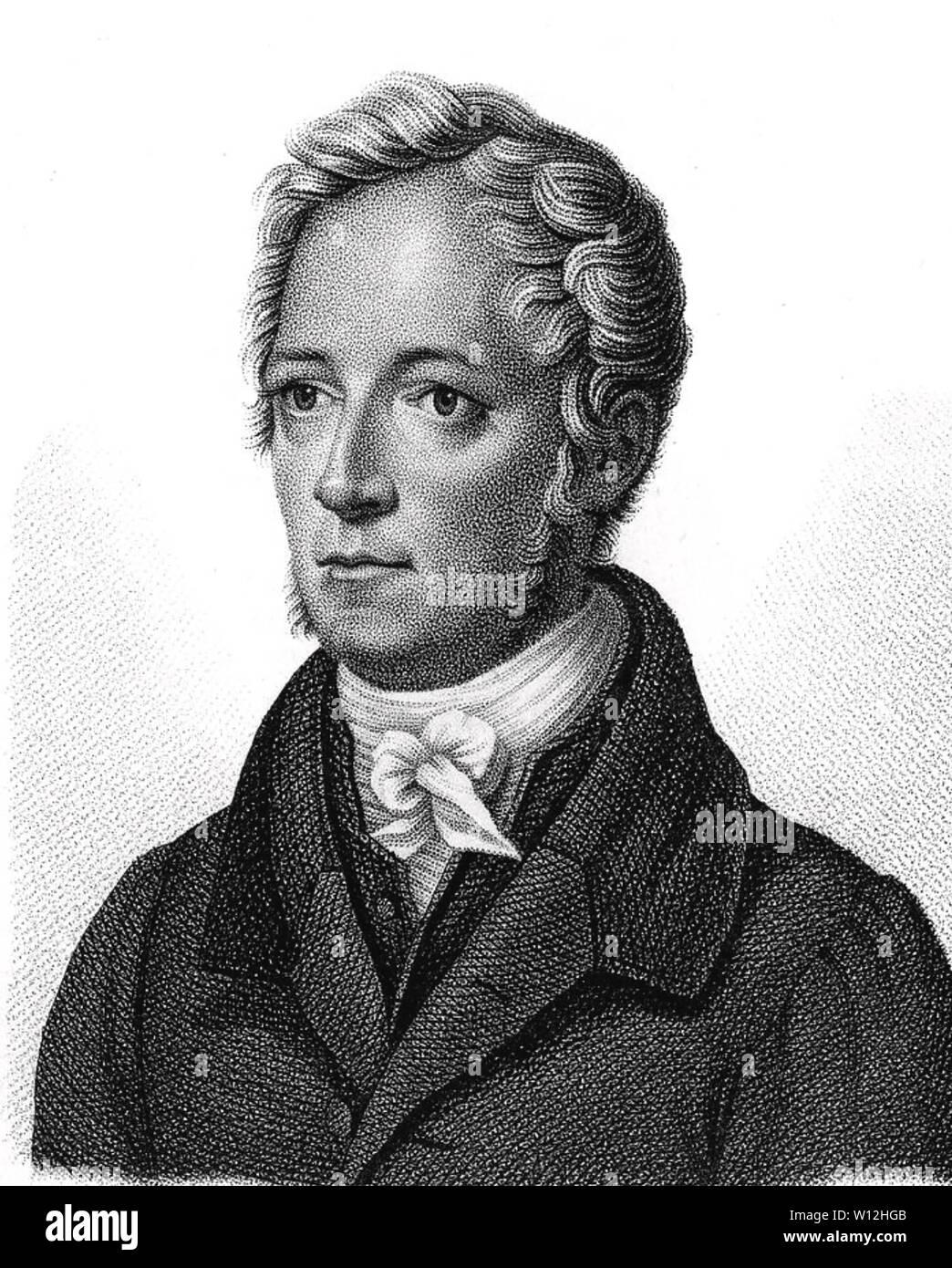 FRIEDRICH TIEDEMANN (1781-1861) German anatomist,  physiologist and physician Stock Photo