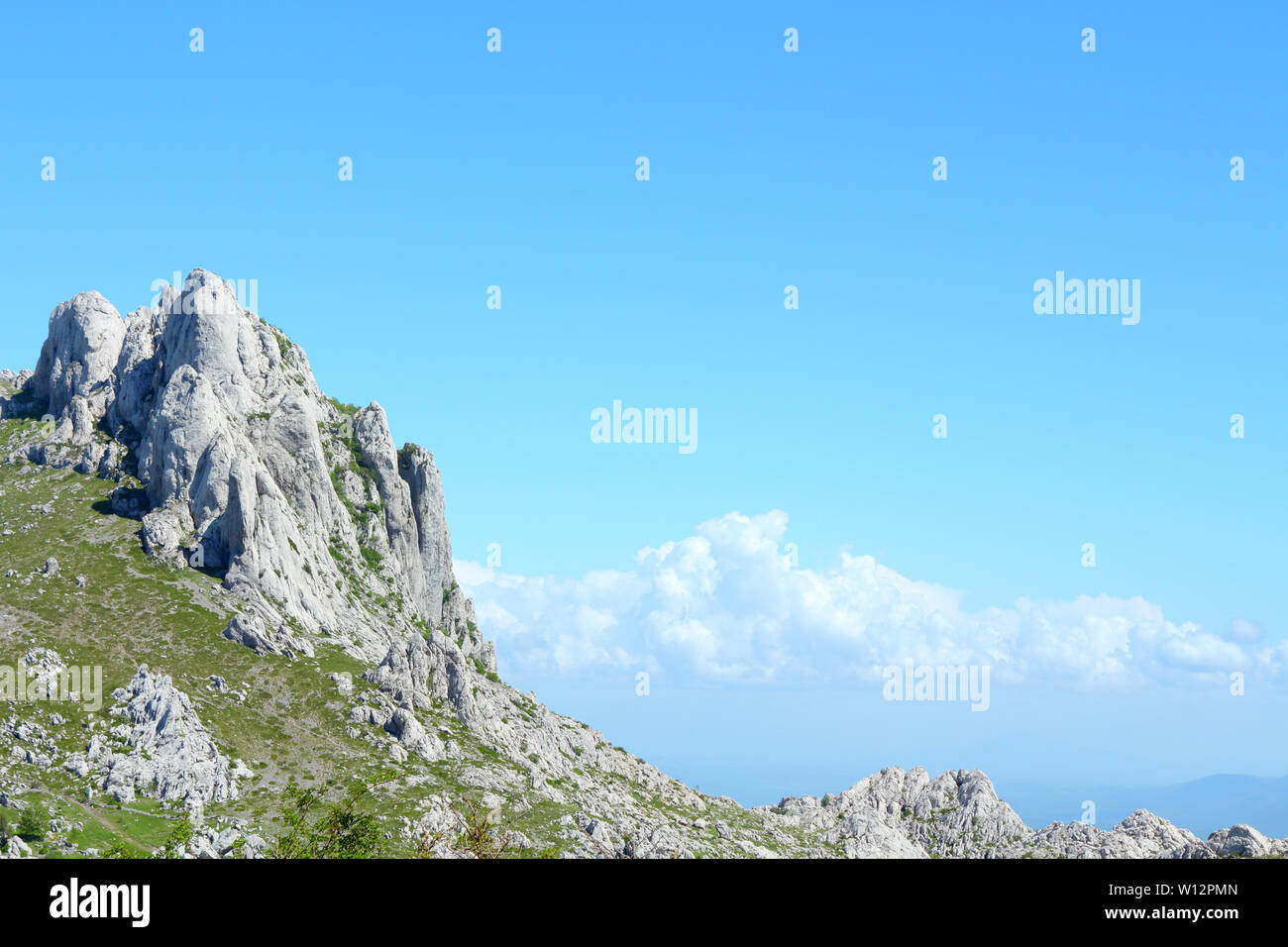National park in Croatia, part of a mountins. This specific mountin is called Tulove grede Stock Photo
