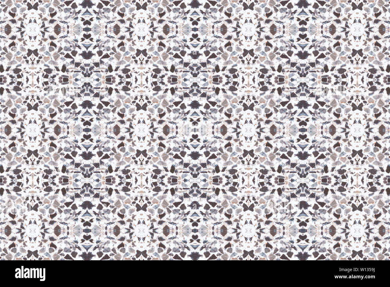 Terrazzo Flooring Marble Old Texture Or Polished Stone